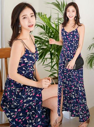 Cherish Long Beach Dress H248