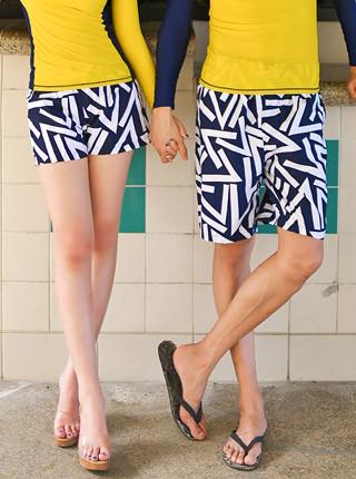 Triangle pants A111